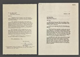 Tony Curtis Signed Letter Of Release