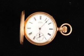 14k Gold American Watch Co. Pocket Watch