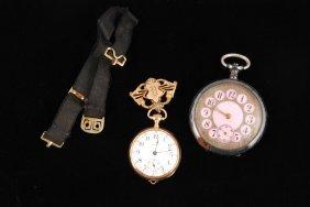 14k Gold Waltham Pocket Watch & A Second