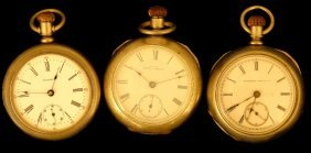 Illinois, American Waltham & Waltham Pocket Watch