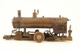 Hand Machined Steam Engine With Boiler
