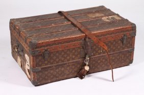 Early Louis Vuitton Steamer Trunk