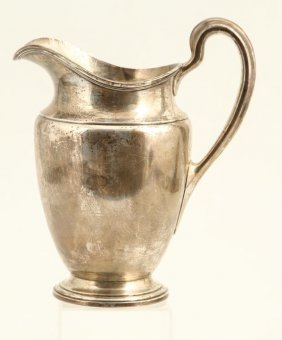 Tiffany & Co Sterling Silver 4 1/2 Pint Pitcher