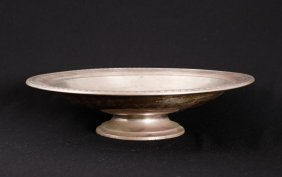 Wallace Sterling Silver Presentation Footed Bowl