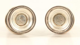 Richard Comyns Sterling Silver Pepper Shakers