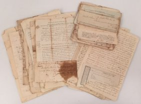 Early (19th C) New Hampshire Legal Documents