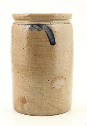 Saltglazed Stoneware Crock