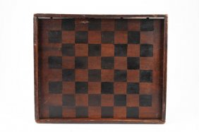 (19th c) CHECKER BOARD