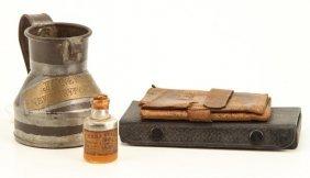 Newburyport Tin Measure, Rowley Wallet Etc
