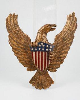 Artistic Carving Co. Boston American Eagle