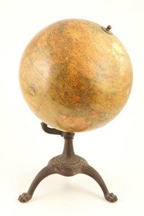 J.l. Hammett 12 Inch Terrestrial Globe