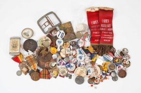 Trove Of Buttons Pins Badges And Medals