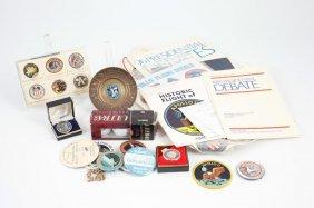 C.1970 Apollo Space Program Memorabilia