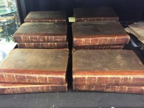 (16) Volumes Of Scott's Novel's