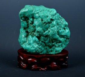 Turquoise Scholar's Rock