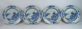 4 - Matching Early 18th C Chinese B&W Plates