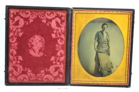 Fine 1/2 Plate Ambrotype Occupational, 1860's