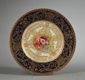 Twelve Royal Worcester Bone China Service Plates, En
