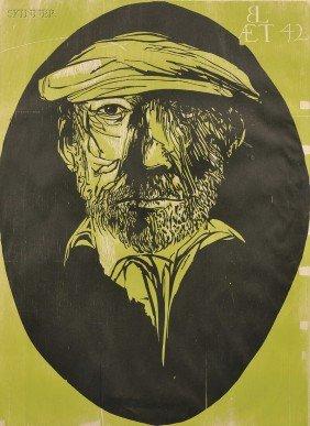 Leonard Baskin (American, 1922-2000) Leonard Baskin
