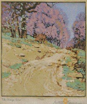 Gustave Baumann (American/German, 1881-1971) The Ri