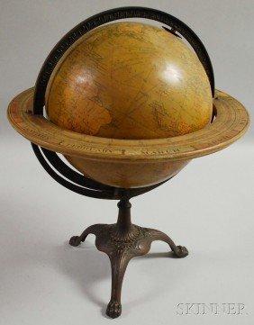 C.S. Hammond & Co. 12-inch Terrestrial Globe On Ca