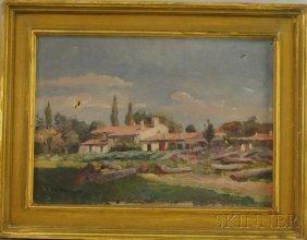 American School, 19th/20th Century Italian Landscap