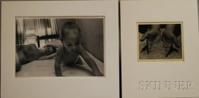 Two Photographs: Mary Jeannette Edwards (American,