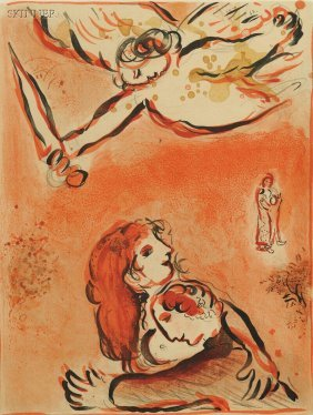 Marc Chagall (French/Russian, 1887-1985) Le Visage