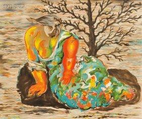 Sandro Chia (Italian, B. 1946) Crying Woman, Editio