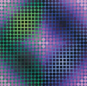 Victor Vasarely (French/Hungarian, 1906-1997) Comp