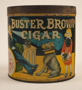Buster Brown Cigar Tobacco Tin