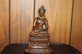 Antique Chinese Bronze Buddha