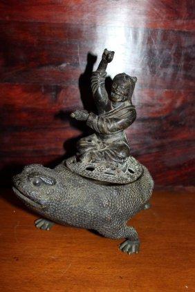 Antique Chinese Bronze Censer Burner