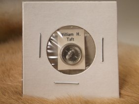 William H Taft Sterling Silver Presidential Coin