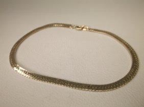 Beautiful Gold Over Sterling Bracelet