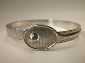Beautiful Rare Gorham Sterling Tennis Bracelet Antique