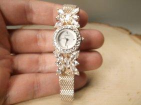 Gorgeous Sterling Silver Lenox Wristwatch