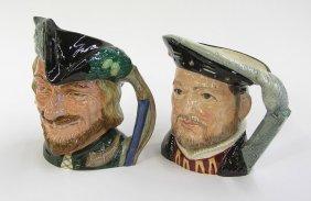 Royal Doulton Toby Pitchers Henry VIII