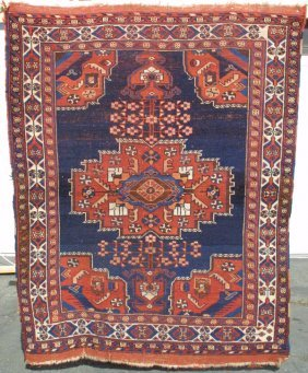 Afshar Medallion Rug Carpet