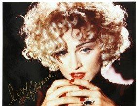 Madonna Autographed Photographs