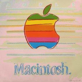 Screenprint, Andy Warhol, Apple, Ads