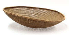 Large Native American Willow Basket