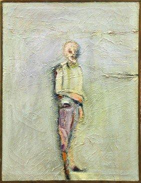 Painting, Mel Ramos, Portrait Philip Guston