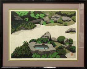 Japanese Woodblock Print, Masao Ido