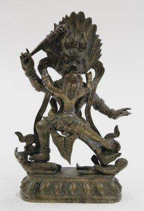 Nepalese Bronze Yamataka