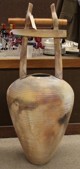 Christianson Earthenware Studio Pottery Amphora