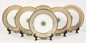 (lot Of 6) Russian Porcelain Plates