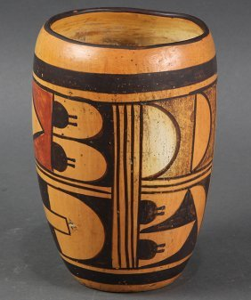 Hopi Pottery Tulip Vase