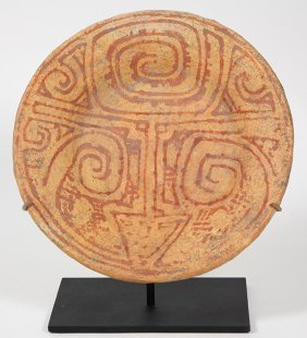 Pre-columbian Amazon Delta, Marajuara Plate