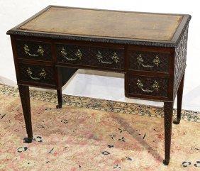 English Regency Mahogany Desk